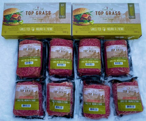 Easy Meal Pack ( 4 Extra Lean Ground, 4 Lean Ground, 2  boxes of burgers) code 52307 image