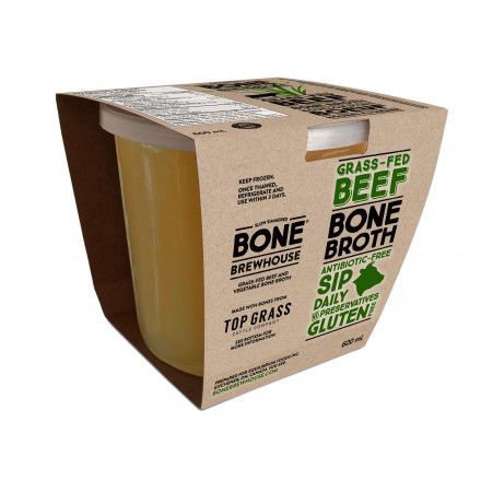 Grass Fed Bone Broth- 600 ml image